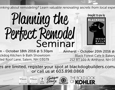 Blackdog - B&W Newspaper Print Ad