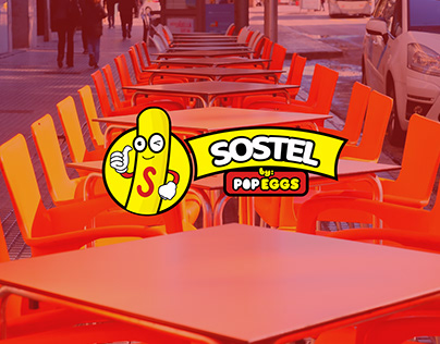 Sostel by Popeggs | Logo Design and Branding