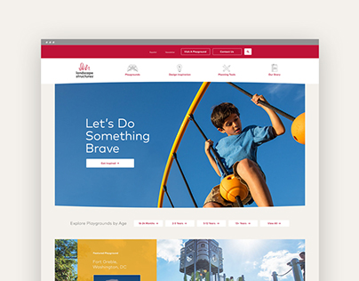 Landscape Structures Website