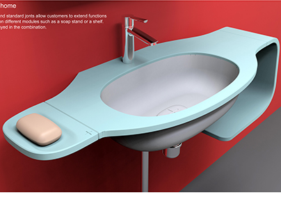 +SOLIDS Washbasin Concept
