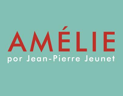 Pôster alternativo - Amélie Poulain