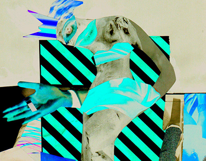 Self-propelled individual // Analog Collage