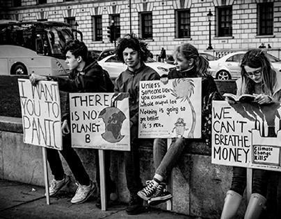 London Climate Change Protest