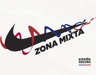 Zona Mixta - NIKE / estadio SEGURO