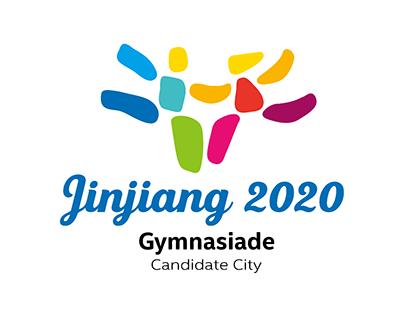 Jinjiang 2020 Gymnasiade Candidate City Logo