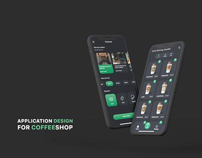 UI/UX Design for Coffeshop Application