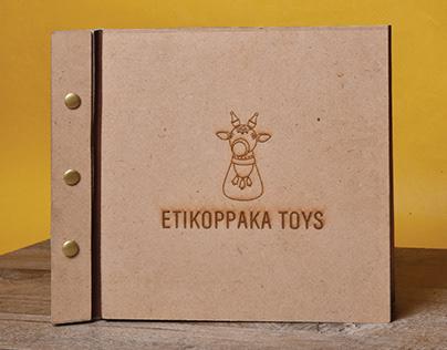 CRAFT DOCUMENTATION Publication Design Etikoppaka Toys