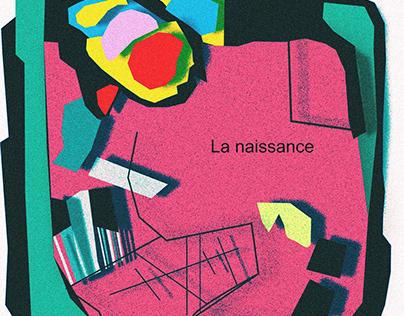 Graphic Poster / La naissance