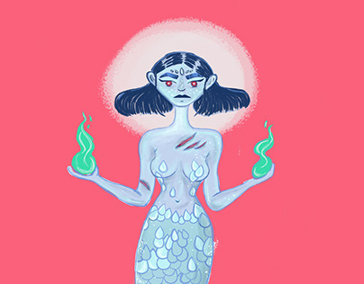 The resurrected mermaid