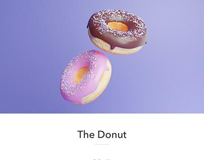 The Donut - 3D Model