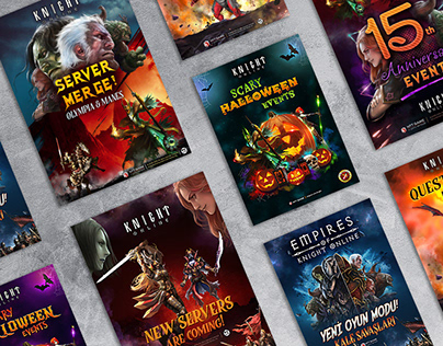 Knight Online Poster Collection