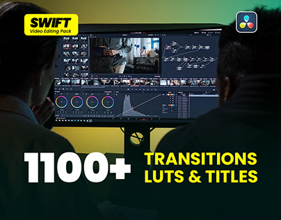 Transitions, Titles and Luts   Davinci Resolve