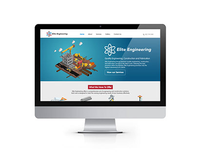 WEBSITE DESIGN Elite Engineerning