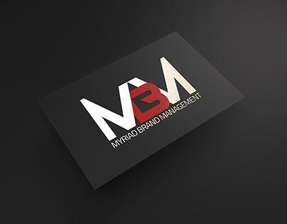 Myriad Brand Management visual identity