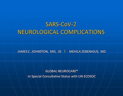Neurological Complications of SARS-CoV-2