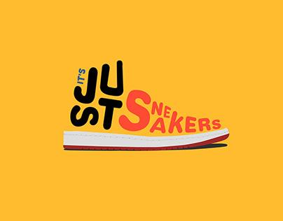 It's Just Sneakers logo design