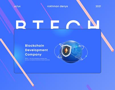 BTECH   fintech landing website