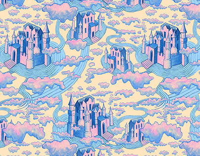 Cloud Castle Pattern