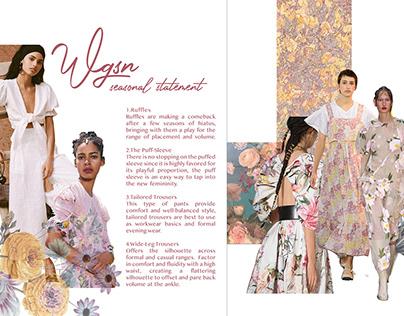 Fashion Trendbook // Vernal Equinox