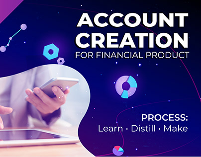 Research for account creation flow 2019