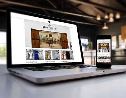 Inverroche Gin / Web Design