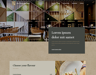 Restaurent, Hotel (Full Wordpress Website)