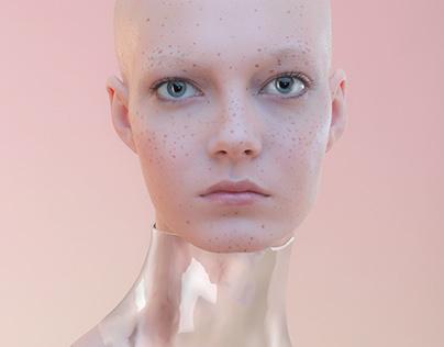 Wonderzine. Nude makeup