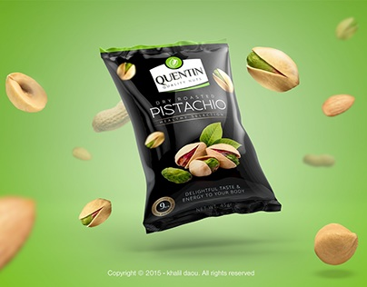 Quentin Nuts Brand Packaging