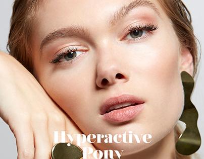 Hyperactive Pony for Ellements Magazine