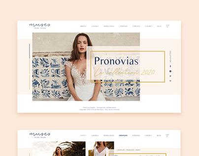 Muses   Design du site