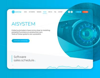 ⚙ Software development company «AISystem»