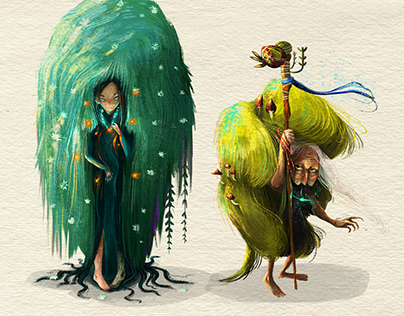 Undergrowth- Concept for platform game