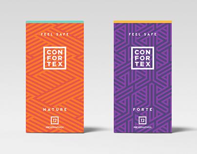 Confortex Condoms Branding