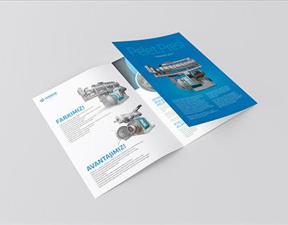 Yemmak - Pellet Mill Trifold Brochure