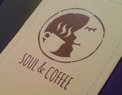 Branding of cafe network Soul & Coffee