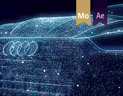 Audi A5 '2017 premiere in Poland #motiondesign