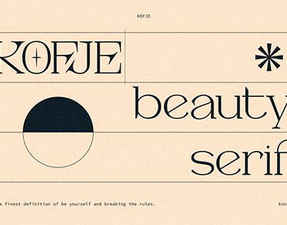 KOFJE - Beauty Serif Fonts