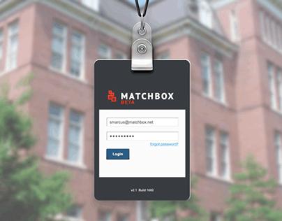 Matchbox.com - Academic Admissions Application