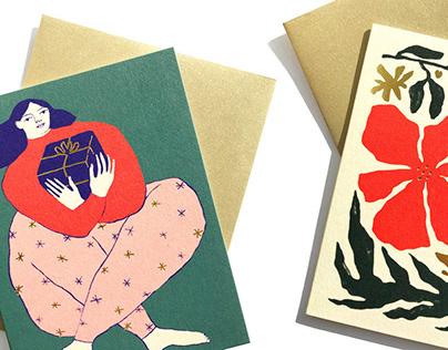 Cartes de Noël pour Paperole