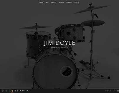 Jim Doyle website build