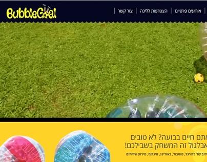 Website for Bubblegoal
