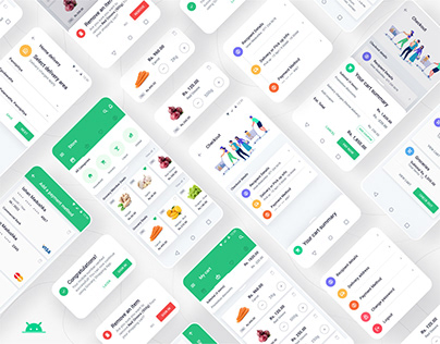 Grocery Shopping App - Android