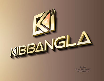 KIB BANGLA logo design