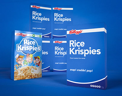 Daily Project | Cereal Packaging Design | Rice Krispies