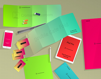 Cromatix Stationery Branding Mock Up