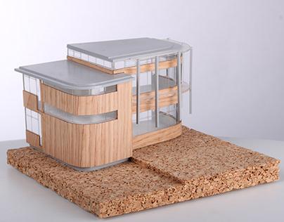 Scale Model - Jodrell Building, Kew Gardens