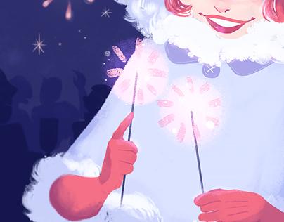 Illustration: Fireworks