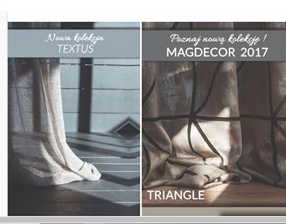 MAGDECOR 2017 - graphics for social media,newsletters
