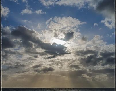 SUNSET off shore