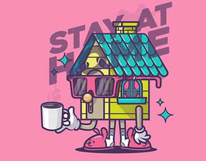 STAY AT HOME / QUÉDATE EN CASA